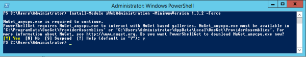 install-module xWebAdministration