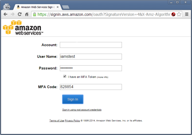 Enforcing AWS Multi-Factor Authentication with IAM