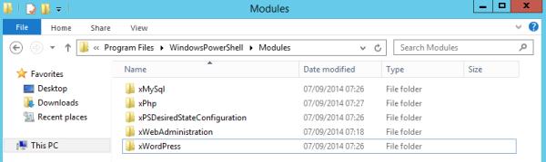 Program Files WindowsPowerShell Modules