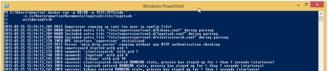 Getting Started with LogStash on Windows using Docker and nxlog